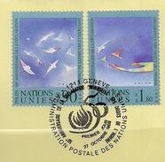 1998 UNO Genf  Mi. 350-1 Used  50. Jahrestag Der Allgemeinen Erklärung Der Menschenrechte. - Gebruikt