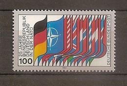 Deutschland 1980, Nr. 1034, 25 Jahre Zugehörigkeit Zur NATO Postfrisch (mnh), Bundesrepublik