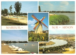 Mareuil Sur Arnon (18) Le Mini Golf - Le Plan D'eau -  Vue Generale - Le Moulin De Nouan - Francia