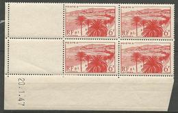 LA CROISETTE CD 20/1/1947  N° 777 NEUF** SANS CHARNIERE MAIS ADHERENCE SUR BORD DE FEUILLE  / MNH