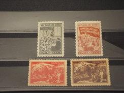 RUSSIA - 1950 PACE  4 VALORI - NUOVI(++)