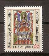 Deutschland 1980, Nr. 1045, 800. Jahrestag Des Reichstages Zu Gelnhausen Postfrisch (mnh), Bundesrepublik