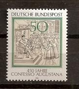 Deutschland 1980, Nr. 1051, 450 Jahre Augsburger Bekenntnis (Confessio Augustana) Postfrisch (mnh), Bundesrepublik