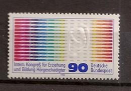 Deutschland 1980, Nr. 1053, Internationaler Kongress Für Erziehung Und Bildung Postfrisch (mnh), Bundesrepublik