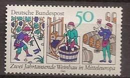 Deutschland 1980, Nr. 1063, Zwei Jahrtausende Weinbau In Mitteleuropa Postfrisch (mnh), Bundesrepublik