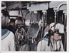 CAID Sammelbild - Unsere Reichsmarine - Befehlsübermittler Gefechtsleitstand (27601) - Cromo