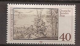 Deutschland 1980, Nr. 1067, 500. Geburtstag Von Albrecht Altdorfer Postfrisch (mnh), Bundesrepublik