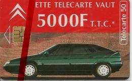 CARTE^-PUBLIC-F 507E-50U-SO3-JG-09/94-CITROEN XM-26-ROMANS-Tirage 30000Ex-NSB-TBE - France