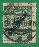 Germany - 1923 - Official -- Scott #O48 - Overprint