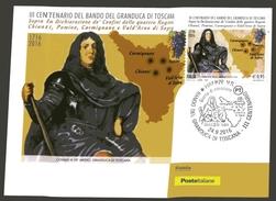 ITALIA :  MAXIMUM - III Cent.del Bando Del Granduca Di Toscana -  Annullo  Da  Firenze 24.09.2016 - Maximumkarten (MC)