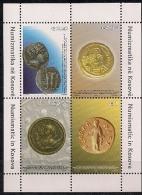 2006 Kosovo   Mi.  Bl.  4  **MNH    Numismatic In Kosovo - Kosovo