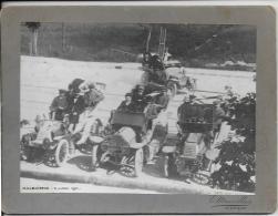 "25.-  MALBUISSON  Rallye Automobile "" Schneider ""  9 Juillet 1911  Photo Mauvillier  ( 2 Renault Et Dedion Bouton ) - Automobiles"