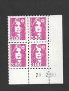 Marianne De Briat Y&T N° 2624  Coin Daté    Livraison Gratuite