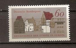 Deutschland 1981, Nr. 1084 Europäische Denkmalschutzkampagne Renaissance Der Städte Postfrisch (mnh), Bundesrepublik