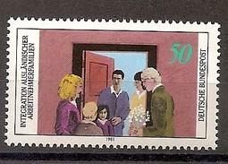 Deutschland 1981, Nr. 1086, Integration Ausländischer Arbeitnehmerfamilien Postfrisch (mnh), Bundesrepublik