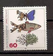 Deutschland 1981, Nr. 1087, Umweltschutz Postfrisch (mnh), Bundesrepublik