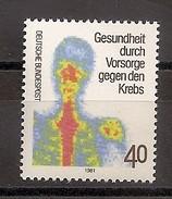 Deutschland 1981, Nr. 1089, Gesundheit Durch Vorsorge Gegen Den Krebs Postfrisch (mnh), Bundesrepublik