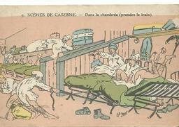 Scene De Caserne  Dans La Chambre - Humoristiques