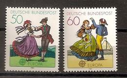 Deutschland 1981, Nr. 1096-97, Europa: Folklore Postfrisch (mnh), Bundesrepublik