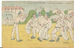 Scene De Caserne  Corvée Aux Puces - Humoristiques