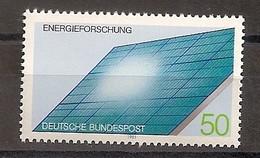 Deutschland 1981, Nr. 1101, Energieforschung, Postfrisch (mnh), Bundesrepublik