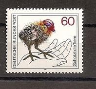 Deutschland 1981, Nr. 1102, Tierschutz Postfrisch (mnh), Bundesrepublik