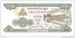 Cambodia - Pick 42b - 200 Riels 1998 - Unc - Cambogia