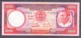 Ecuatorial Guinea  1000 Fr  Name Of The President In 5 Words ( Masie ) ) - Autres - Afrique