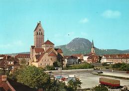 SINGEN A. HOHENTWIEL - Herz Jesu Kirche Und Hohentwiel - Singen A. Hohentwiel