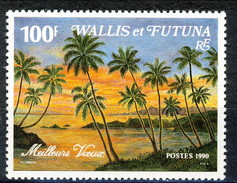 WF 1990 N. 404A  Auguri MNH Cat. € 3.40 - Wallis E Futuna