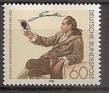 Deutschland 1982, Nr. 1121,  150. Todestag Von Johann Wolfgang Von Goethe Postfrisch (mnh), Bundesrepublik