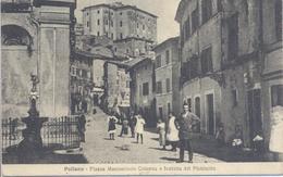 Paliano Frosinone Piazza Marcantonio Colonna E Fontana Del Plebiscito - Frosinone