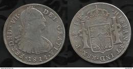 ESPAGNE . CAROLUS IV . 8 REALES . 1814 . - Monnaies Provinciales