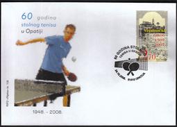 Croatia Opatija 2008 / 60 Years Of Table Tennis In Opatija
