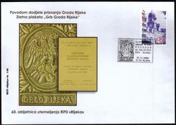 Croatia Rijeka 2009 / Coat Of Arms / 60 Years Of Philatelic Society