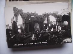 Syrië Syria St Simon St Simeon Qalat Semaan Photo Card - Syrië