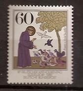 Deutschland 1982, Nr. 1149, 800. Geburtstag Des Hl. Franz Von Assisi; Postfrisch (mnh), Bundesrepublik