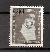 Deutschland 1983, Nr. 1162, Edith Stein (1891-1942), Karmeliterin, Philosophin Postfrisch (mnh), Bundesrepublik