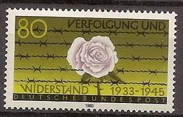 Deutschland 1983, Nr. 1163, Verfolgung Und Widerstand Postfrisch (mnh), Bundesrepublik