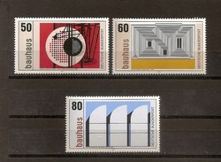 Deutschland 1983, Nr. 1164-66, Bauhaus: 100. Geburtstag Von Walter Gropius Postfrisch (mnh), Bundesrepublik