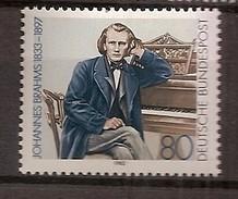 Deutschland 1983, Nr. 1177, 150. Geburtstag Von Johannes Brahms Postfrisch (mnh), Bundesrepublik