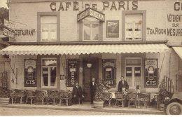 Rochefort Café De Paris Restaurant Sandeman Willemans Bieres  Desaix