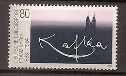 Deutschland 1983, Nr. 1178, 100. Geburtstag Von Franz Kafka Postfrisch (mnh), Bundesrepublik
