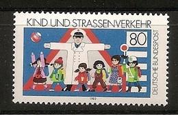 Deutschland 1983, Nr. 1181, Kind Und Straßenverkehr Postfrisch (mnh), Bundesrepublik