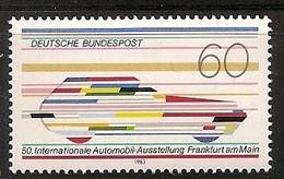Deutschland 1983, Nr. 1182, Internationale Automobilausstellung (IAA) Postfrisch (mnh), Bundesrepublik