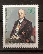 Deutschland 1983, Nr. 1184, 100. Geburtstag Von Otto Warburg Postfrisch (mnh), Bundesrepublik