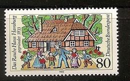 """Deutschland 1983, Nr. 1186, 150 Jahre """"Das Rauhe Haus"""", Hamburg.  Postfrisch (mnh), Bundesrepublik"""