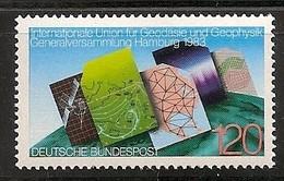 Deutschland 1983, Nr. 1187, Generalversammlung Der Internationalen Union Für Geodäsie Postfrisch (mnh), Bundesrepublik