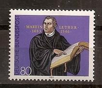 Deutschland 1983, Nr. 1193, 500. Geburtstag Von Martin Luther Postfrisch (mnh), Bundesrepublik