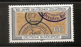 Deutschland 1983, Nr. 1195, 150 Jahre Deutscher Zollverein Postfrisch (mnh), Bundesrepublik